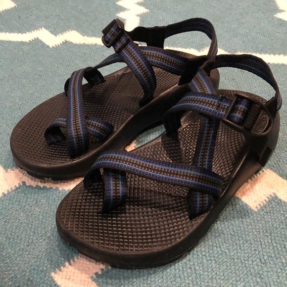 0e18c4de71a9 Chaco Other - Men s CHACO Vibram Sandals w  Toe Strap - BLUE - 8